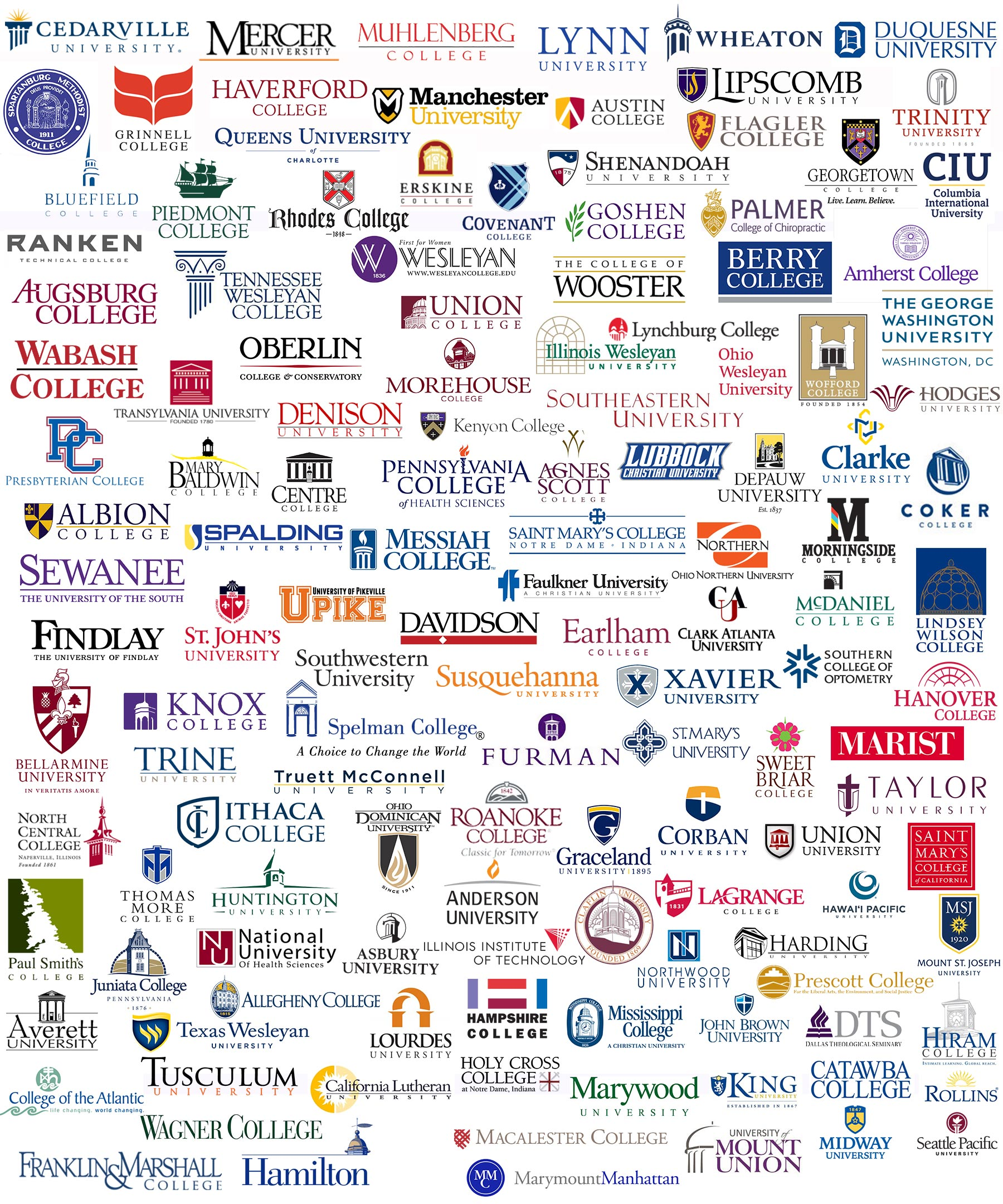 HESS Member Institutions graphic